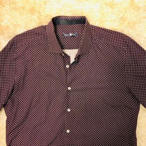 Stone Rose Long Sleeve Button down Size 5